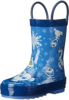 Western Chief Frozen Olaf Hugs Rain boot(Toddler/Little Kid/Big Kid)