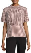 Liz Claiborne Short Sleeve Peplum Top