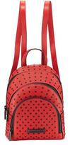 KENDALL + KYLIE Sloane Mini Studded Leather Backpack, Ruby Red