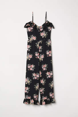 H&M Cold shoulder jumpsuit