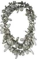 Prada Crystal Multi-Strand Necklace