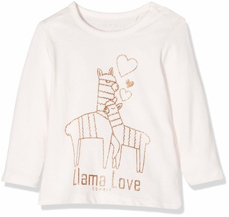 Esprit Baby Girls' Rp1005109 T-Shirt Long Sleeves Top