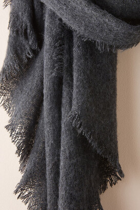 Anthropologie Joyeux Boucle Scarf By in Black