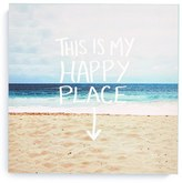 DENY Designs 'Leah Flores - This Is My Happy Place' Canvas Wall Art