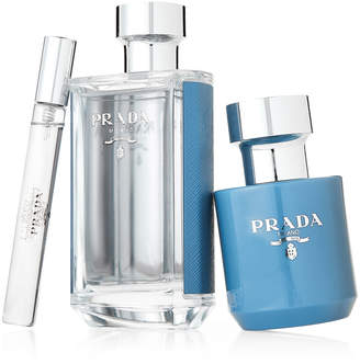Prada L'Homme L'Eau 3-Piece Fragrance Gift Set