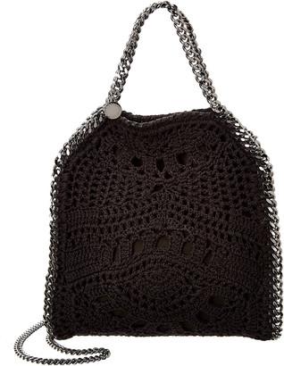 Stella McCartney Falabella Mini Crochet Ajouree Tote