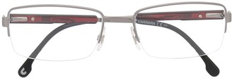 Carrera Clear Rectangle Frame Glasses