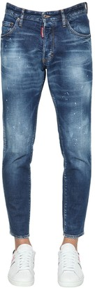 DSQUARED2 15cm Skinny Dan Cotton Denim Jeans