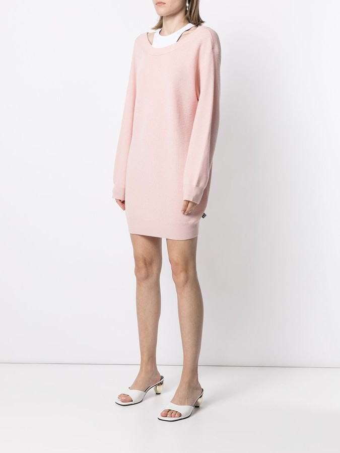 Thumbnail for your product : alexanderwang.t Knitted Jumper Dress