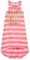Asstd National Brand Girls Stripe Dress-Big Kid