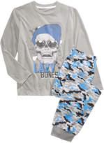 Max & Olivia 2-Pc. Lazy Bones Pajama Set, Little Boys (2-7) & Big Boys (8-20), Created for Macy's