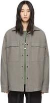 Fear Of God Grey Vintage Cord Shirt