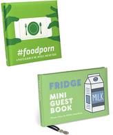 Knock Knock Fridge Mini Guest Book and #foodporn Photo Album