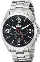 Lacoste Men's 2010808 Montreal Analog Display Japanese Quartz Silver Watch