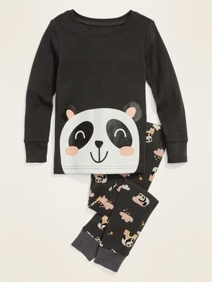 Old Navy Panda Pajama Set for Toddler Girls & Baby