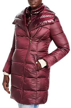 Via Spiga Asymmetric Puffer Coat