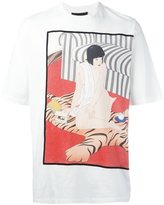 3.1 Phillip Lim illustration print T-shirt