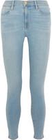 Frame Mid-rise Skinny Jeans - Light denim