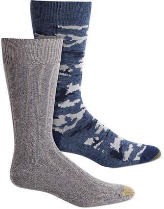 Gold Toe Men 2-Pk. Camo Socks