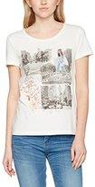 Tom Tailor Women's Happening Today Print Shirt T-Shirt