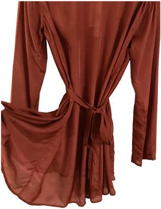 Mes Demoiselles ... Burgundy Silk Dresses