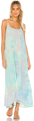 9seed 9 Seed Tulum Low Back Maxi Dress