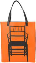 Loewe chair print tote bag