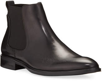 Kenneth Cole Men's Tully Leather Chelsea Boots
