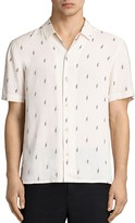 AllSaints Cygnus Slim Fit Button-Down Shirt