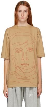 Bless Beige Stitched Starcut II T-Shirt