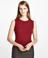 Brooks Brothers Sleeveless Cashmere Shell