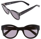 Bobbi Brown Women's 'The Zoe/s' 49Mm Sunglasses - Black
