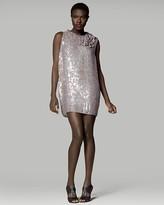 Ruffle Cocoon Dress