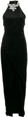 Balmain sequin embellished sleeveless dress