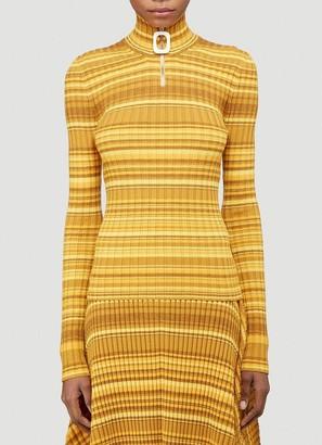 J.W.Anderson Striped Knit Sweater