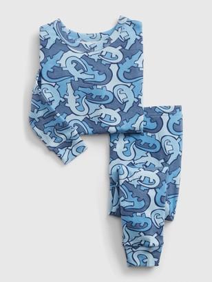Gap babyGap Blue Alligator PJ Set