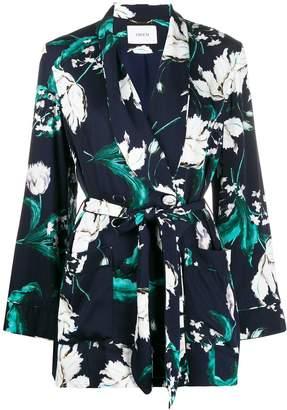 Erdem floral pattern silk jacket