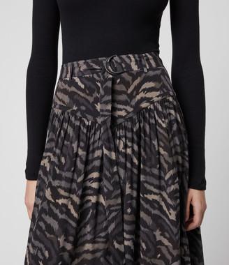 AllSaints Aisla Remix Skirt