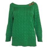 Lauren Ralph Lauren Green Cotton Knitwear for Women