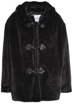 Ainea Faux Fur Hooded Coat