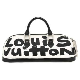 Louis Vuitton Vintage Alma Black Leather Handbag