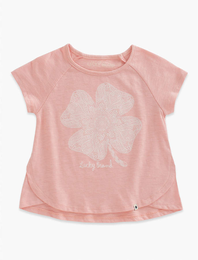 Lucky Brand Lucky Lace Tee