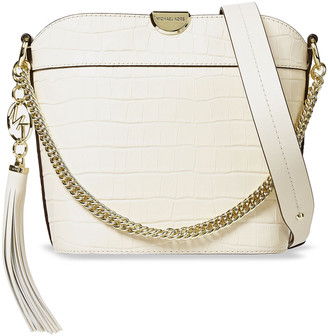 MICHAEL Michael Kors Croc-effect Leather Bucket Bag