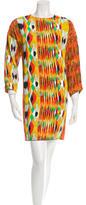 Celine Printed Shift Dress