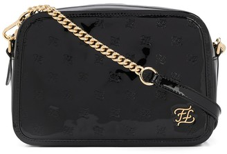 Fendi Karligraphy embossed crossbody bag