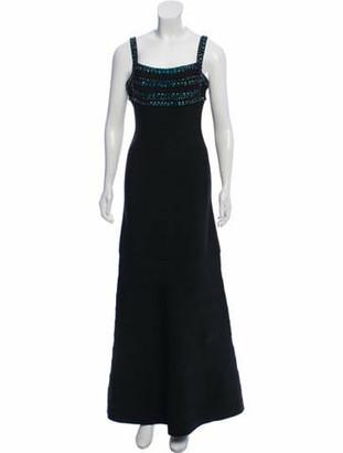 Herve Leger Phelicia Bandage Dress Black