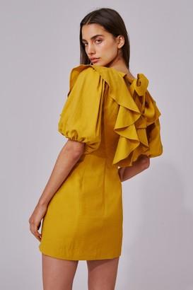 C/Meo NEW PLACES SHORT SLEEVE DRESS marigold