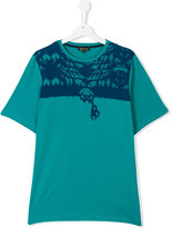 Roberto Cavalli teen printed T-shirt - kids - Cotton/Spandex/Elastane - 14 yrs