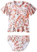 Seafolly Wild Poppy Rashie Set Girl's Swimwear Sets