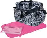 Trend Lab Deluxe Duffle Style Diaper Bag